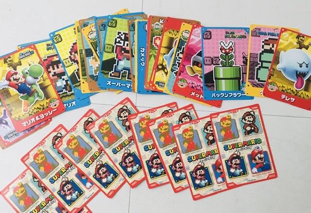 マリオの絵合わせカード