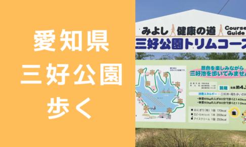 愛知県三好公園歩く