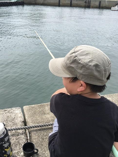 やりたかった釣ができてうれしい