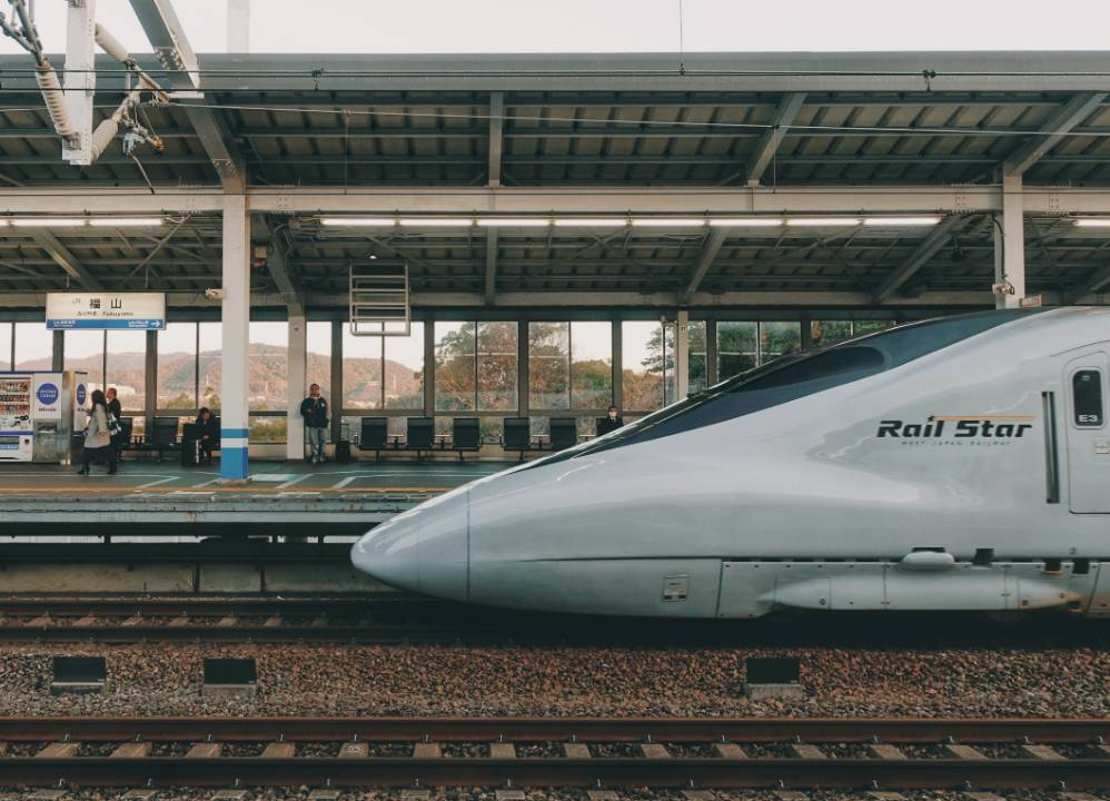 電車で旅行